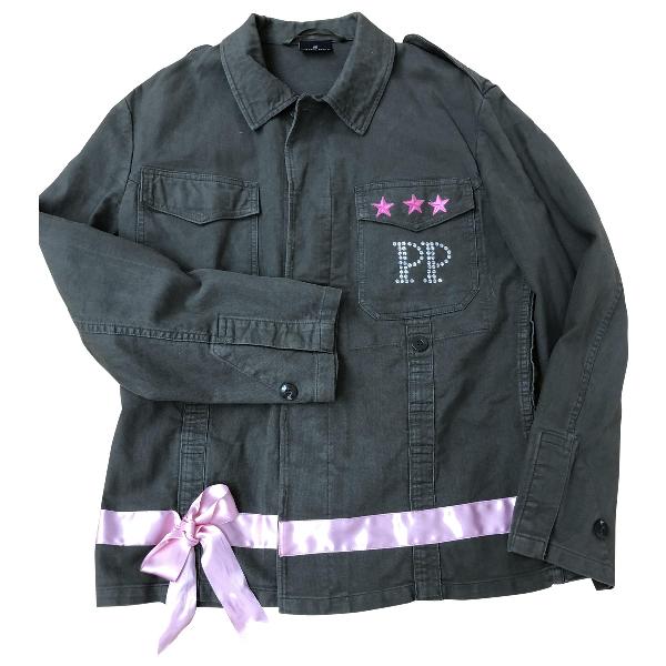 Philipp Plein Khaki Cotton Jacket