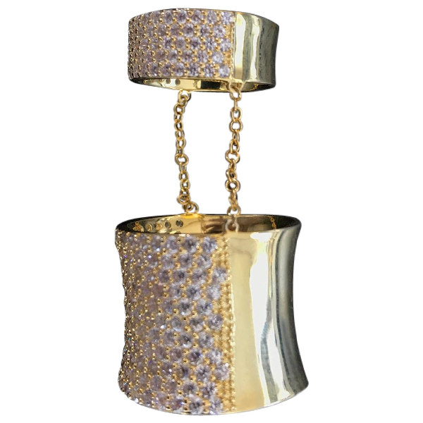 Eddie Borgo Gold Silver Plated Ring