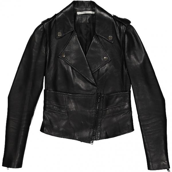 Givenchy Black Leather Leather Jacket