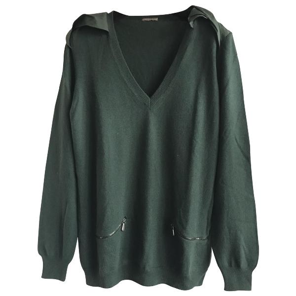 Bottega Veneta Green Cashmere Knitwear