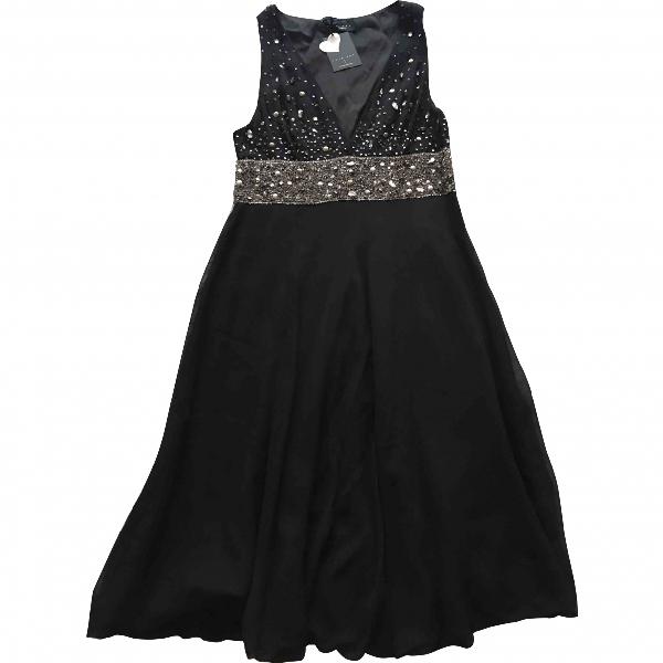Twinset Black Silk Dress