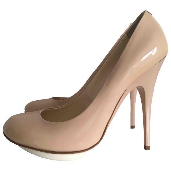 Giuseppe Zanotti Pink Patent Leather Heels