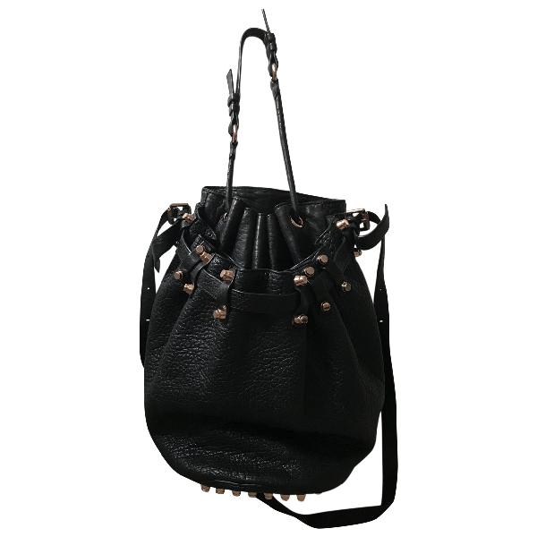 Alexander Wang Diego Black Leather Handbag