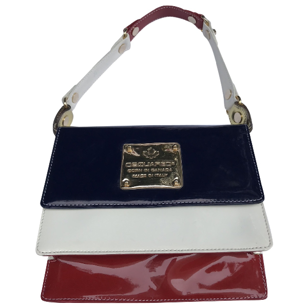 Dsquared2 Patent Leather Handbag