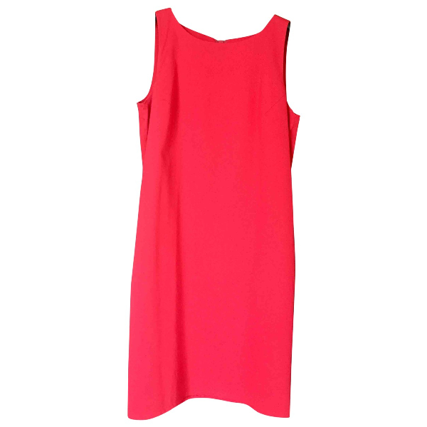 Moschino Cheap And Chic Red Cotton Dress