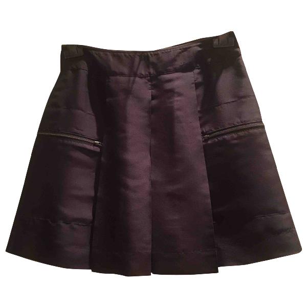 See By ChloÉ Black Silk Skirt