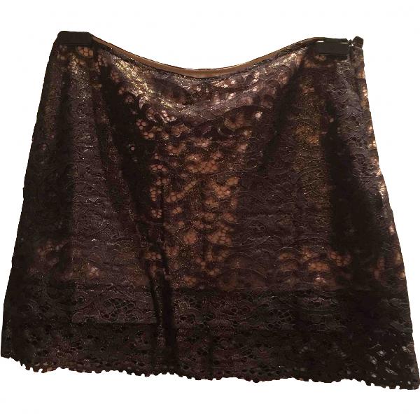 See By ChloÉ Metallic Cotton Skirt