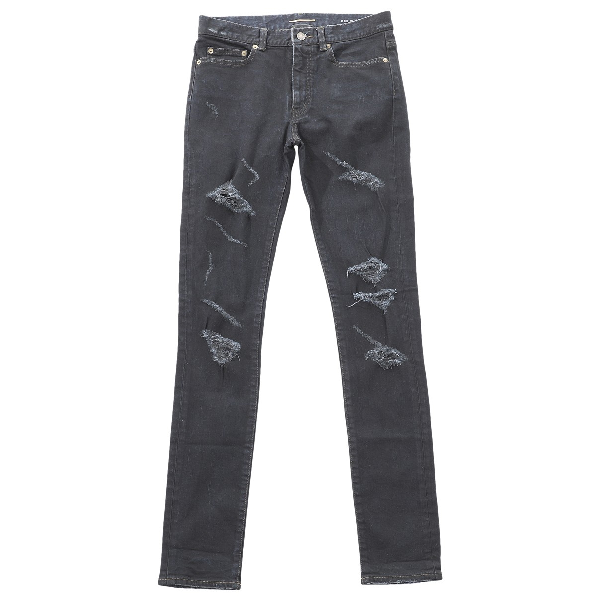 Saint Laurent Black Denim - Jeans Trousers