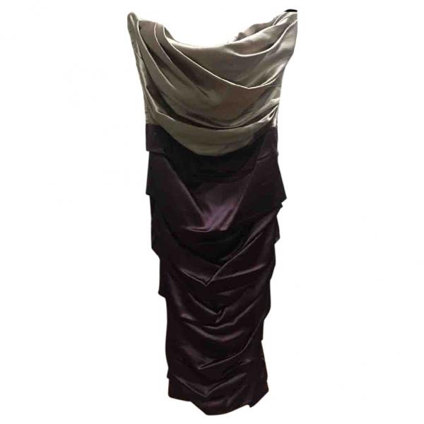Dolce & Gabbana Beige Silk Dress