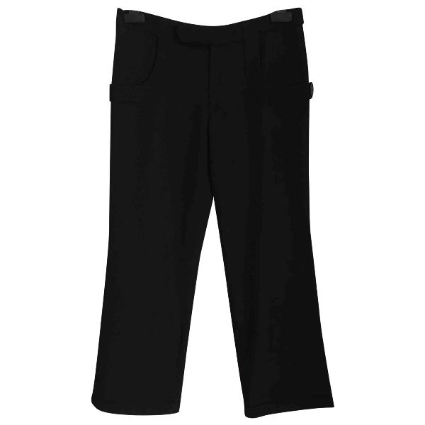 Marni Black Wool Trousers
