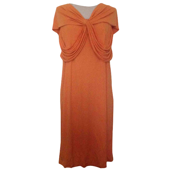 Max Mara Orange Dress