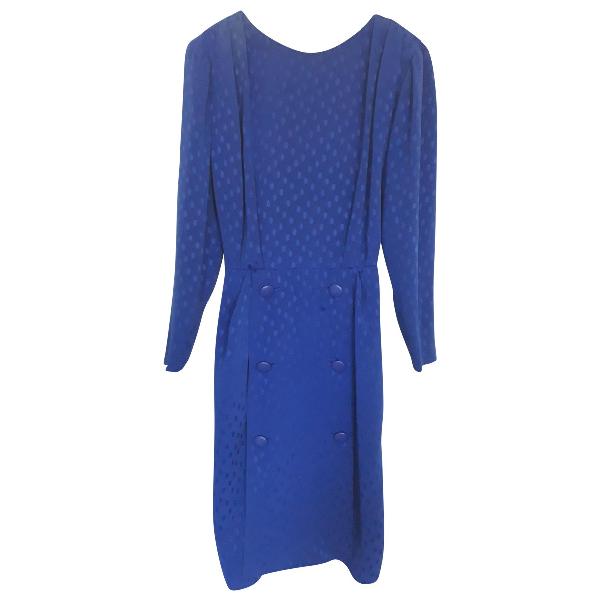 Dior Blue Silk Dress