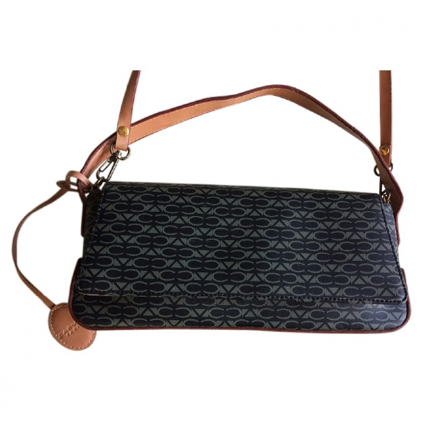 Carven Camel Cloth Handbag