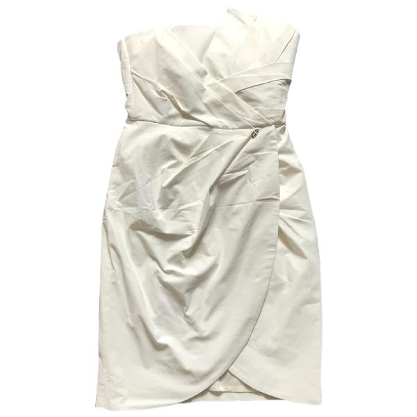 Elisabetta Franchi White Dress