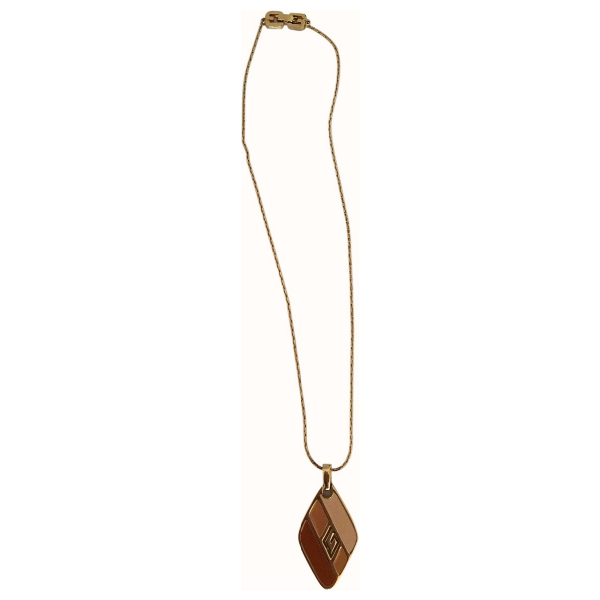 Givenchy Multicolour Gold Plated Pendant