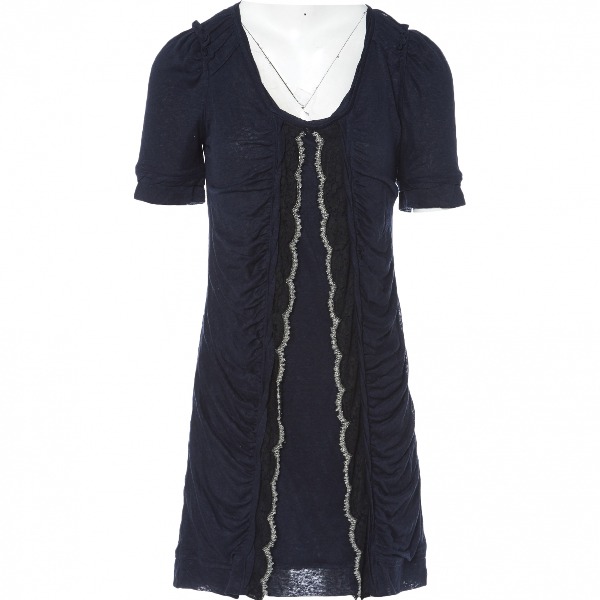 Christian Lacroix Navy Cotton Dress