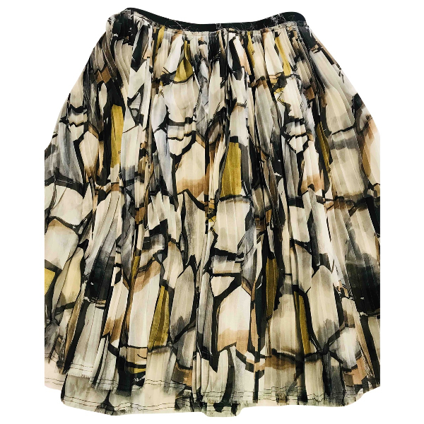 Marni Multicolour Silk Skirt