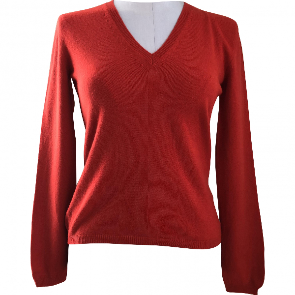 Fabiana Filippi Red Wool Knitwear