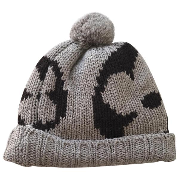 Louis Vuitton Grey Wool Hat