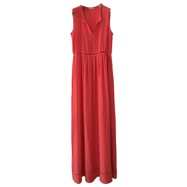 Parosh Pink Silk Dress