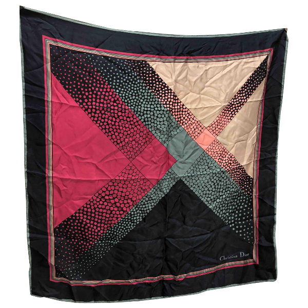 Dior Multicolour Silk Silk Handkerchief