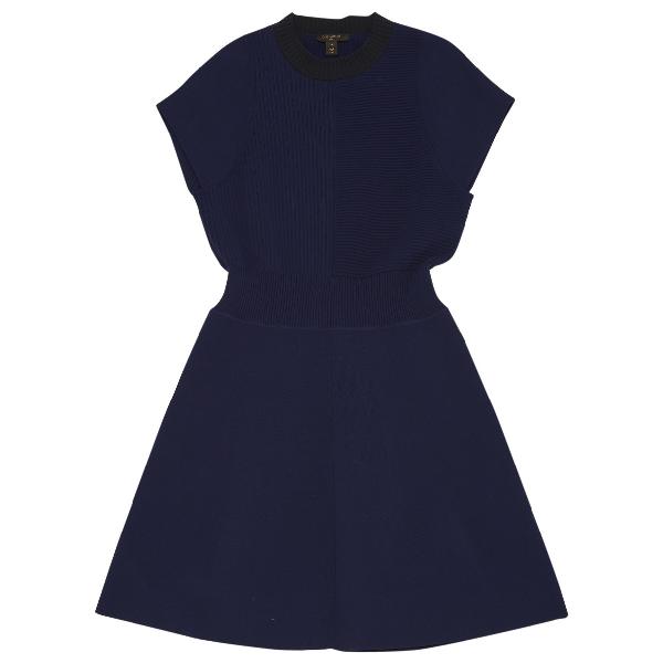 Louis Vuitton Blue Dress