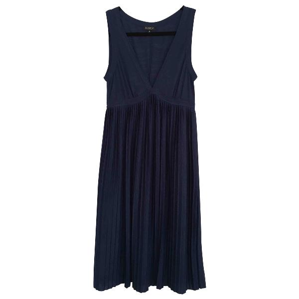 Claudie Pierlot Blue Wool Dress