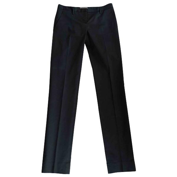 Prada Navy Cotton Trousers