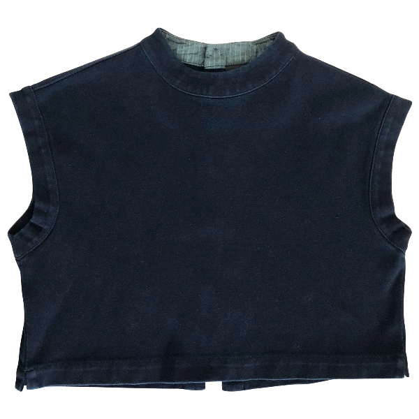Ag Blue Cotton  Top