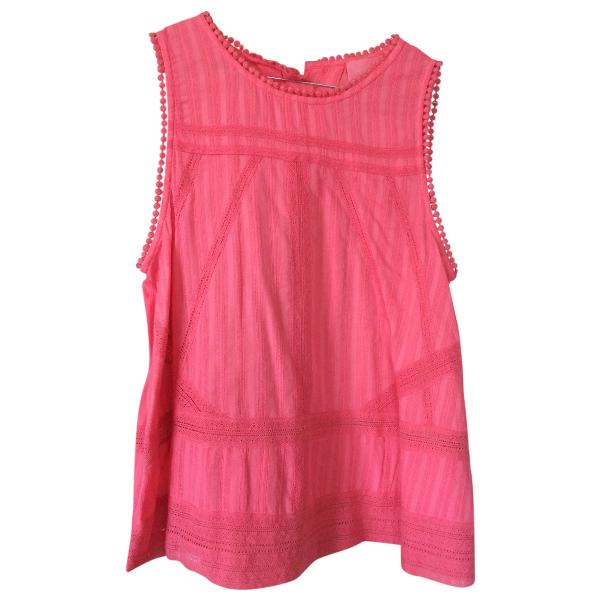 Zadig & Voltaire Pink Cotton  Top
