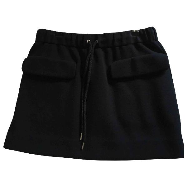 Cos Black Cotton Skirt