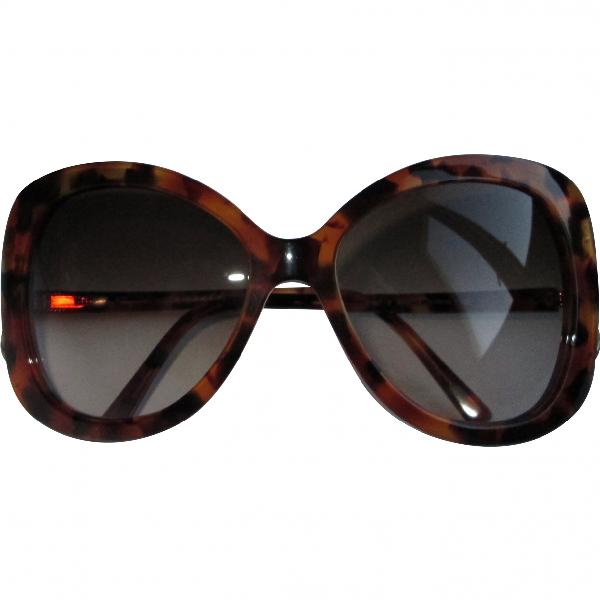 Salvatore Ferragamo Brown Sunglasses