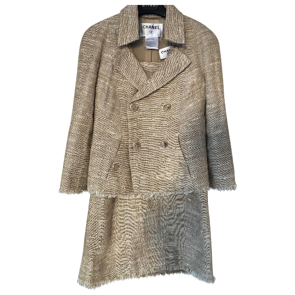 Chanel Beige Tweed Jacket