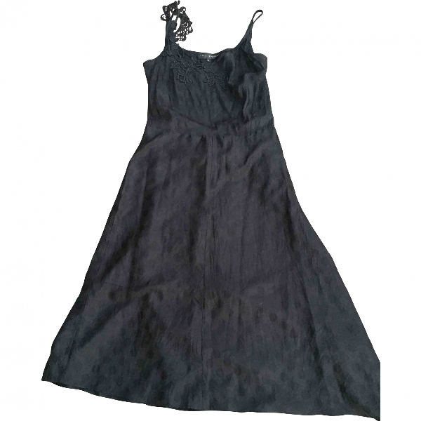 Isabel Marant Black Silk Dress