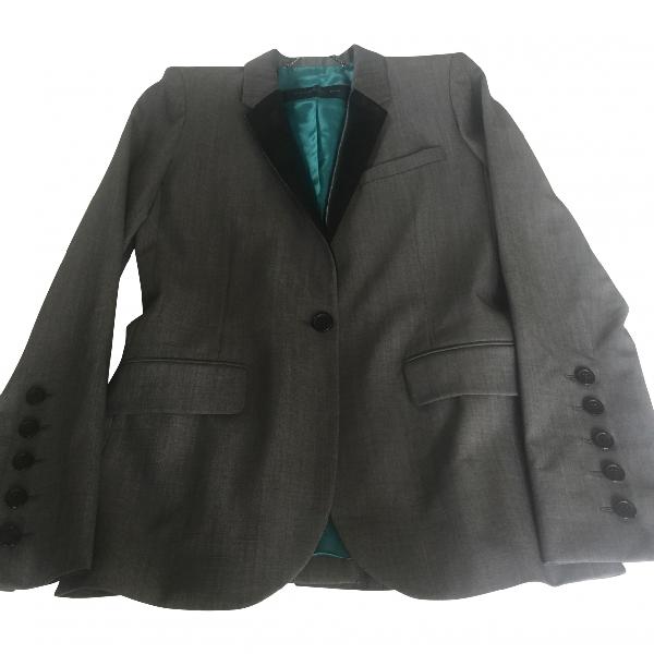 Barbara Bui Grey Wool Jacket
