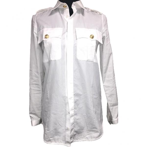 Dsquared2 White Cotton  Top