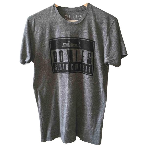Brian Lichtenberg Grey Cotton  Top
