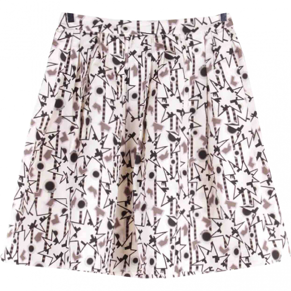 Miu Miu Multicolour Silk Skirt