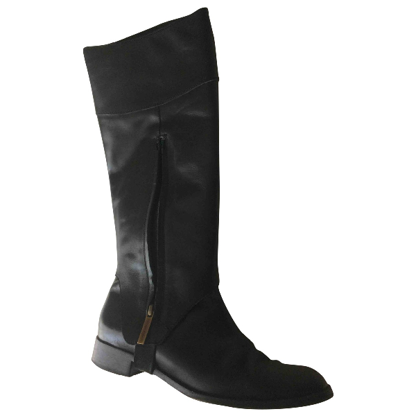 Fratelli Rossetti Black Leather Boots