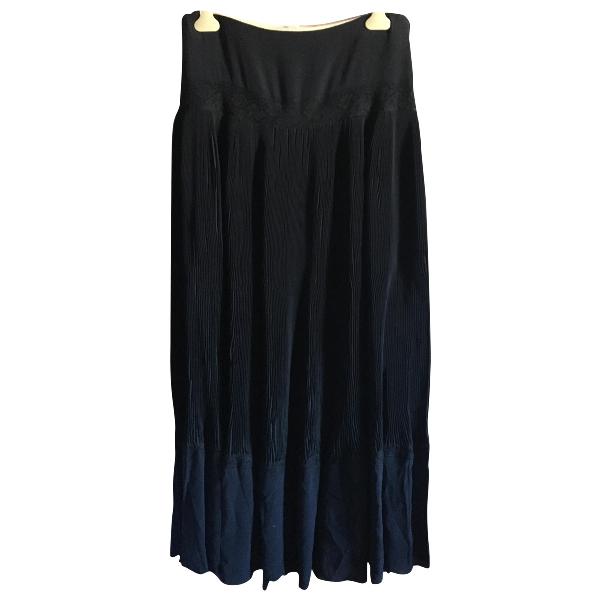 ChloÉ Black Silk Skirt