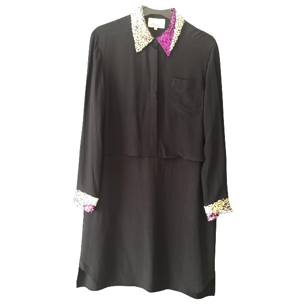 3.1 Phillip Lim Anthracite Silk Dress