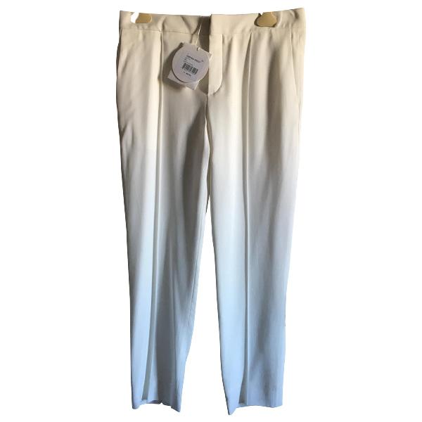 ChloÉ Beige Silk Trousers