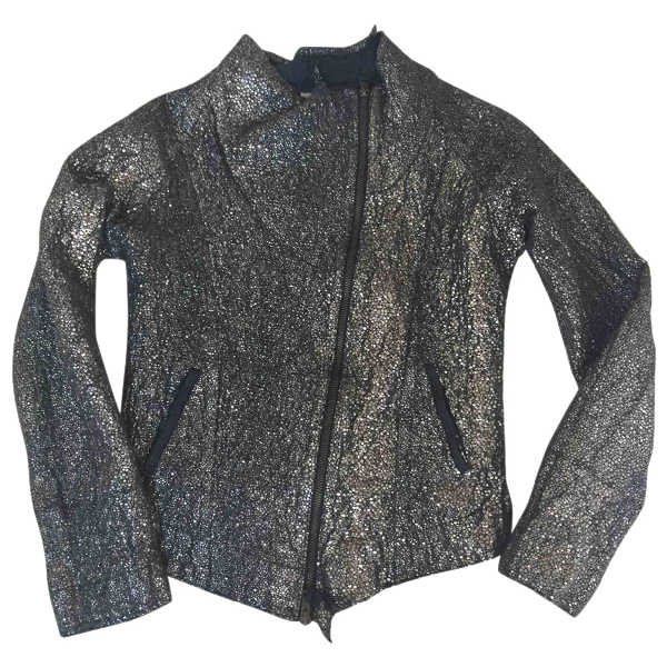 Humanoid Silver Cotton Jacket