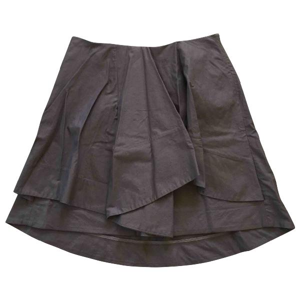 Cos Grey Cotton Skirt