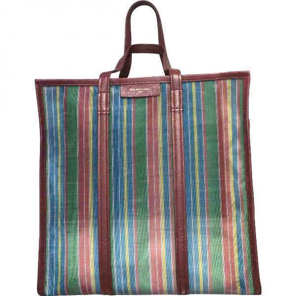 Balenciaga Bazar Bag Multicolour Cloth Handbag