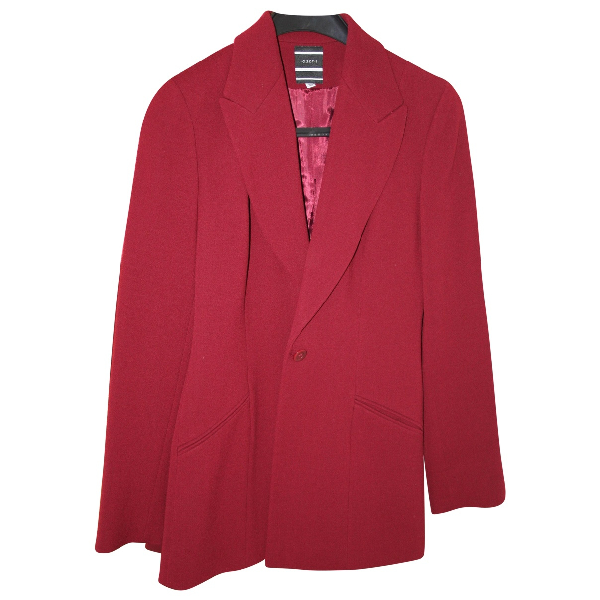 Joseph Red Wool Jacket