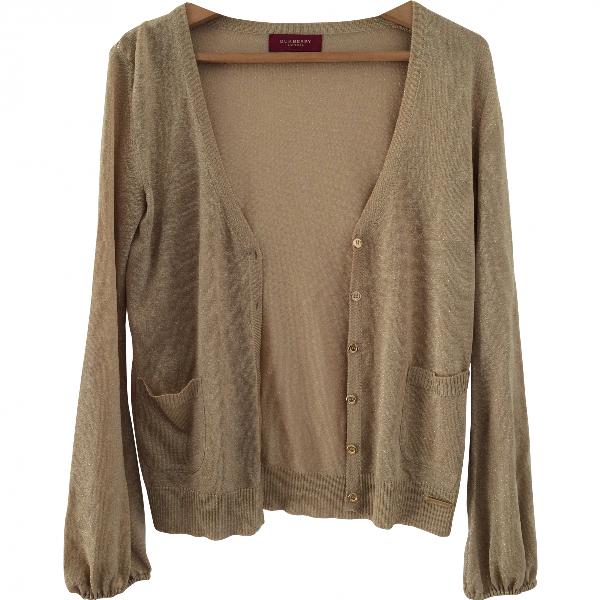 Burberry Gold Knitwear