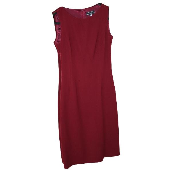 Joseph Red Wool Dress
