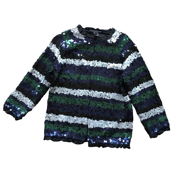 Marc Jacobs Blue Glitter Jacket