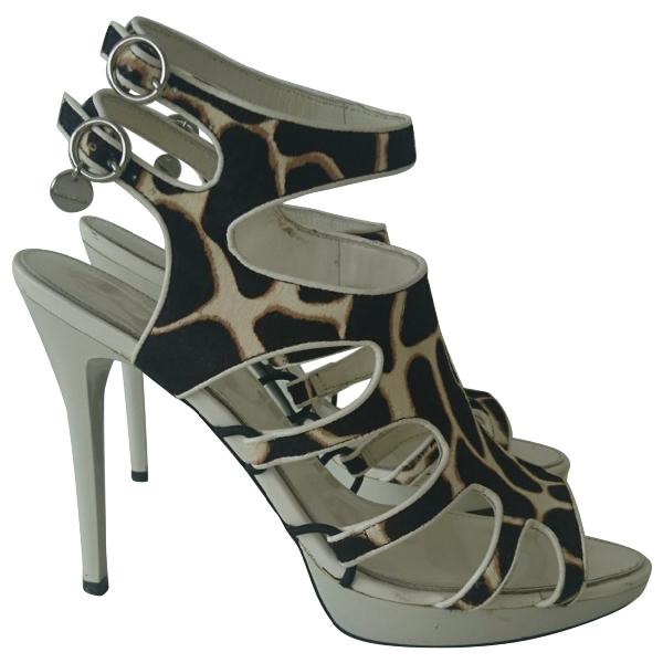 Karen Millen Multicolour Pony-style Calfskin Heels